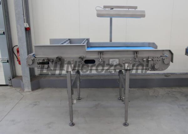 Przenośnik płaski inspekcyjny podajnik sortowniczy przenośnik taśmowy taśmociąg